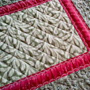 Green and Wine tablerunner