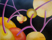 8 x 10 oil on canvas 'Bearing Fruit One'
