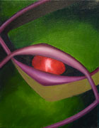 8 x 10 oil on canvas 'Spider Eye'