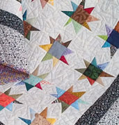 Twinkling Stars lap quilt