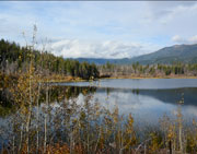 Mowson Pond near Tyaughton Lake, BC