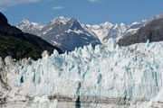 Margerie Glacier in the West Arm of Glacier Bay, Alaska