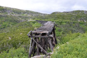 Old rail trestle over Dead Horse Gulch